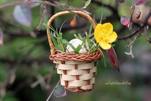 Easter Basket by Catlaxy
