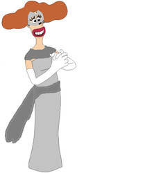 Lady Tottington in Phantom Theif outfit by sandowkatie