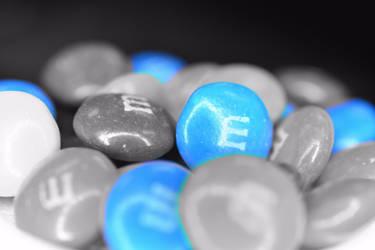 Blue MMs by baquar