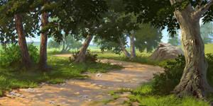 Road by Denewer