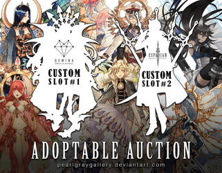 Custom Adoptable Slots [CLOSED] by Pearlgraygallery