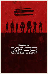 Mass Effect poster by billpyle