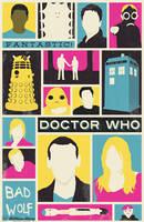 Doctor Who - The Ninth Doctor poster by billpyle