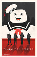 Ghostbusters poster by billpyle