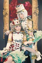 Gardeners, Soldiers, Courtiers or Royals? by Kanasaiii