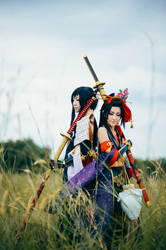 The Oodachi Brothers by Kanasaiii