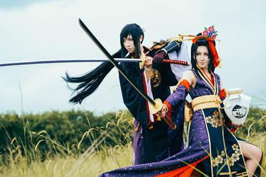 For Asakura clan by Kanasaiii