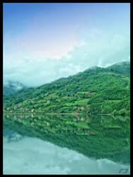 reflection by Gordanj
