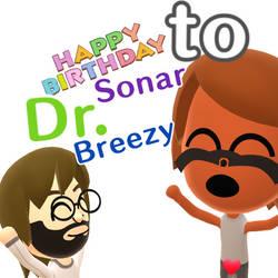 Happy Birthday, Sonar! by Warey102