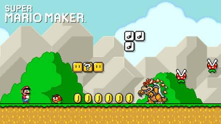 My Super Mario Maker Wallpaper by Warey102