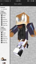 Jack the Hedgehog in Minecraft by Warey102