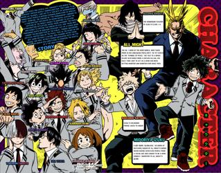 My Hero Academia Characters by Raijin72675