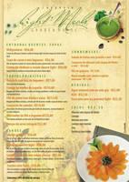 Menu restaurant by PortpholioGarrido