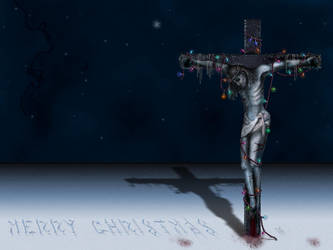 Crucified In A Winter Wonderla by extension13