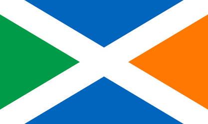 Irish Scottish Union by KHLFlags