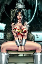 Wonder Woman Brainwash By Lanio Sena Colored by hydr1555