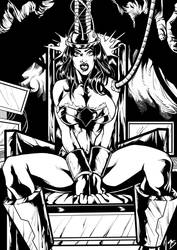 Wonder Woman Brainwash-Sequel commission by marcel by hydr1555