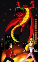 Return of Evil Jake by MarioRoz