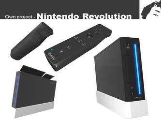 Nintendo Revolution by Boumanbob