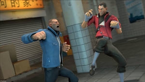 [SFM] Thug vs Delinquent by Zeiburg