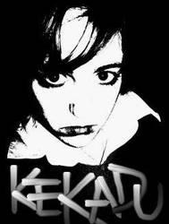kekadu black and white by sanguinetalons