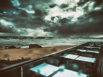 A chuva sentou-se na esplanada by rgquarkup