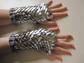 Shining Silver Fists by CraftyMutt