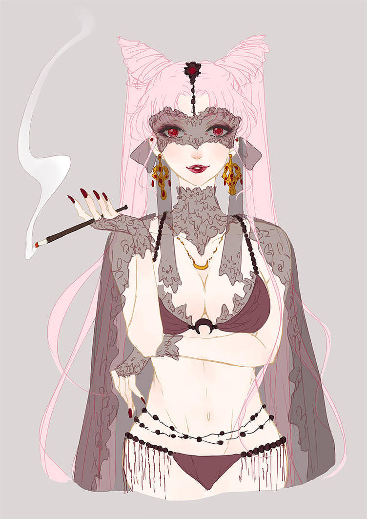 Black  Lady by soudwrong