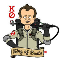Ghostbusters The King of Busts by Jonnyetc