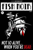 Fish Noir Comic Book Cover by Jonnyetc