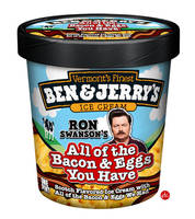 Ron Swanson Ice Cream by Jonnyetc