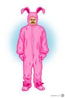Ron Swanson's Pink Nightmare by Jonnyetc