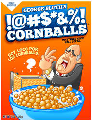 George Bluth's: Cornballs Cereal by Jonnyetc