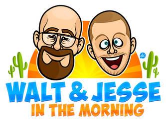 Walt and Jesse in the Moooooorrrrning! by Jonnyetc