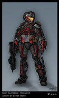 My Favorite Spartan Design by Either-Art