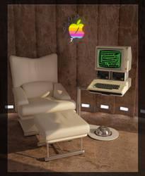 Apple II by milenplus