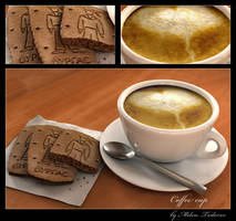 Coffee cup by milenplus