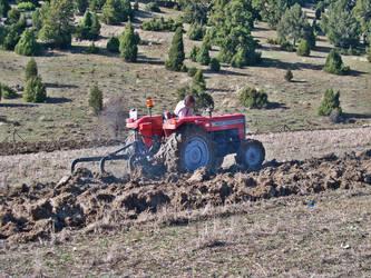 Plowing time by kalbimsenin