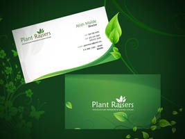 Plat Raiser Business Card by prkdeviant