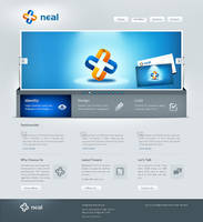 Neal Infotech redesign by prkdeviant