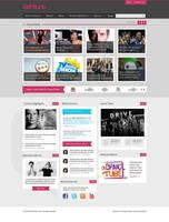 Ventiunq - WordPress theme by prkdeviant
