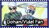 Gohan+Videl Fan Stamp by Furiael