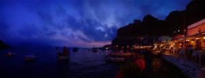 Santorini Sunset by d-i-e-g-o