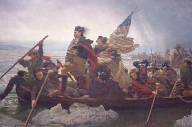Josh Crossing the Delaware by Hoebox