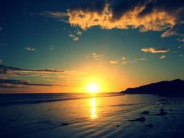 Sunsetpostcard by FaeryThief