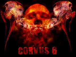 Corvus 6 Wallpaper by Corvus6Designs