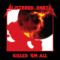 Blistered Earth T-Shirt 00 by Corvus6Designs