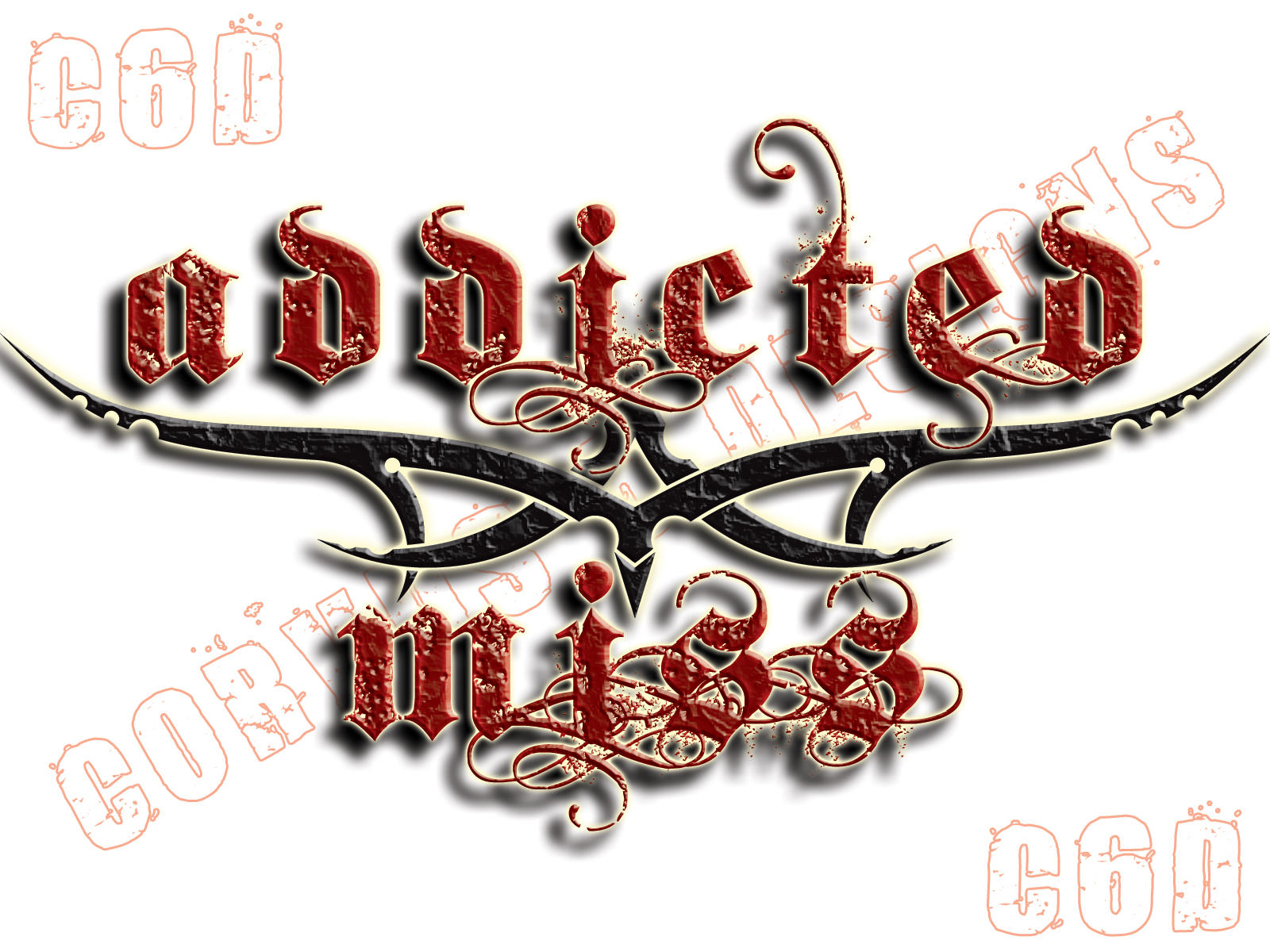 Addicted Miss Band Logo by Corvus6Designs