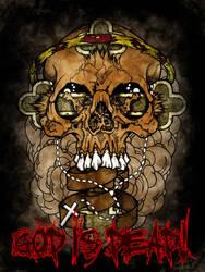 God Is Dead by Corvus6Designs