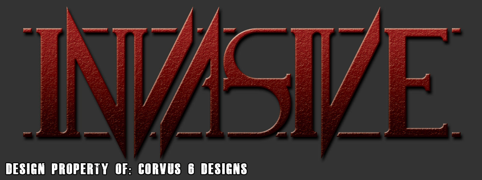 Invasive Band Logo Sample 01 by Corvus6Designs